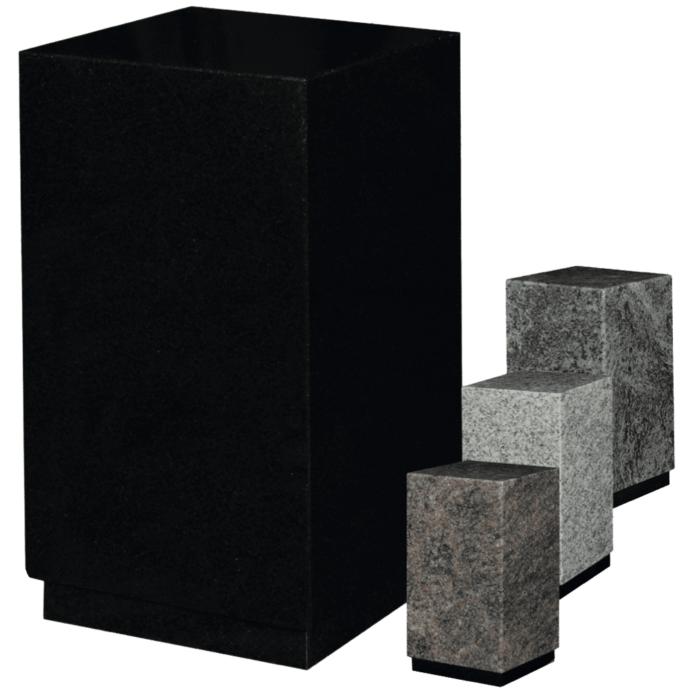 Urne Carrée - Granit